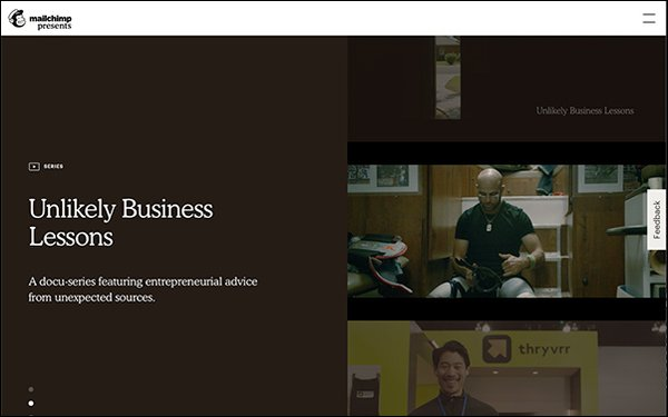 a corporate streaming platform with content marketing - OKAST