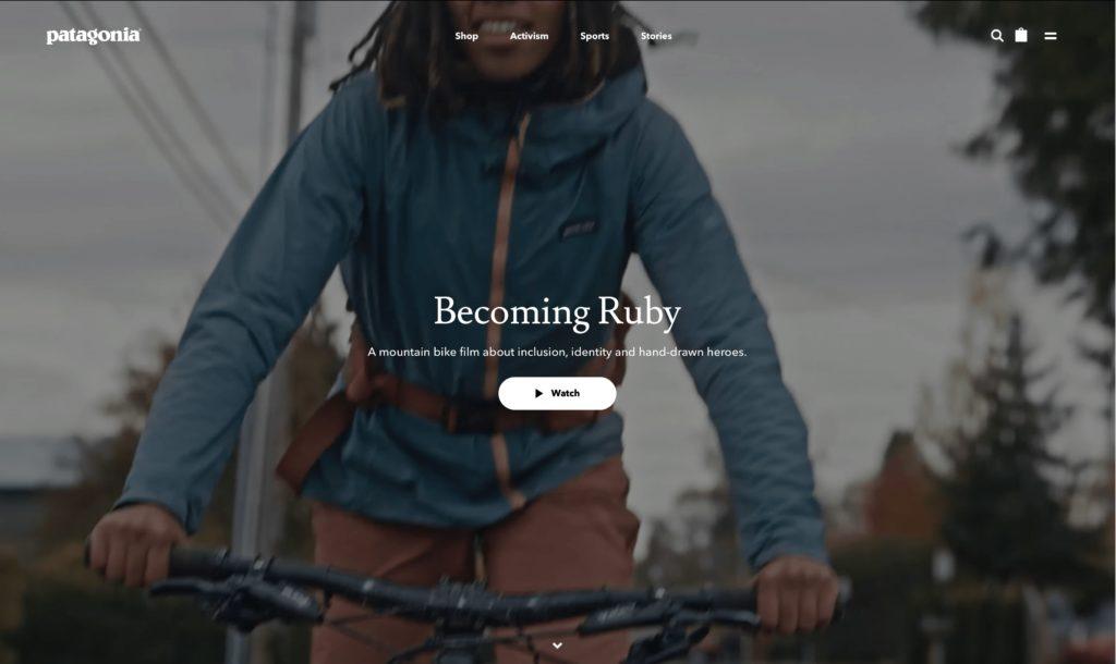 Patagonia branded streaming video platform