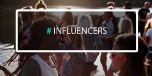 Illustration article blog influencers