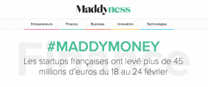 startup actualité maddyness maddymoney finance