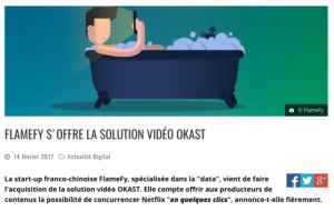les écrans video solution ott vod netflix