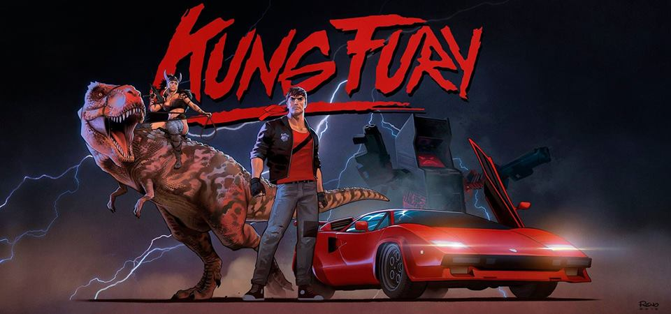 Kung Fury poster film crowdfunding